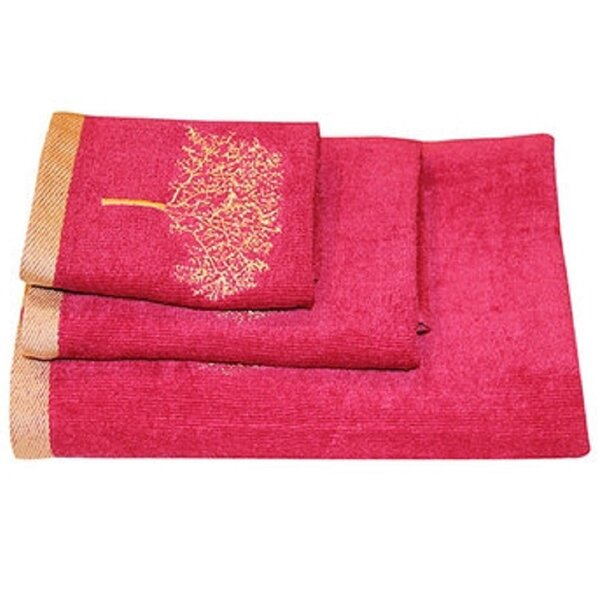 Arbor 3 Piece 100% Cotton Towel Set by Dainty Home